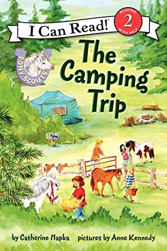 9780062086631: Pony Scouts: The Camping Trip (I Can Read Level 2)