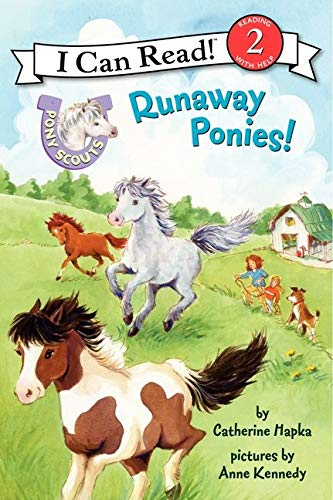 9780062086693: Pony Scouts: Runaway Ponies! (I Can Read. Level 2)