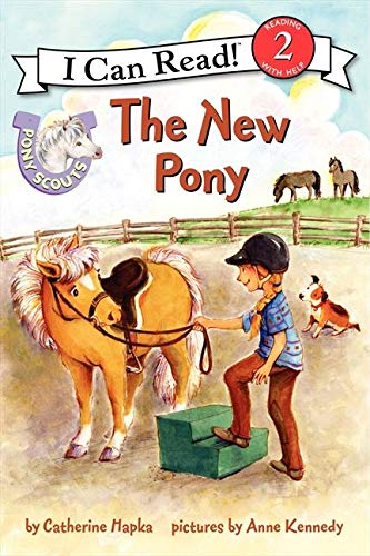 9780062086730: Pony Scouts: The New Pony (I Can Read Level 2)