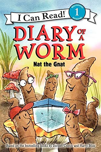 9780062087072: Diary of a Worm: Nat the Gnat (I Can Read Book 1)