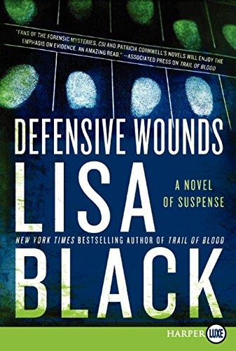9780062088581: Defensive Wounds LP: A Novel of Suspense (Theresa MacLean Novels)