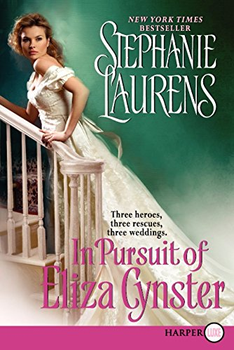 9780062088833: In Pursuit of Eliza Cynster LP (Cynster Sisters Trilogy)