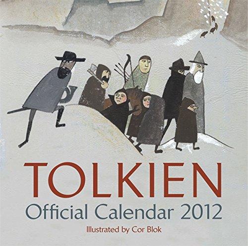 9780062089205: Tolkien Calendar 2012