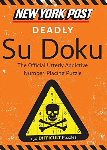 9780062094728: New York Post Deadly Su Doku: 150 Difficult Puzzles