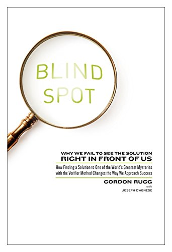 9780062097903: Blind Spot: Why We Fail to See the Solution Right in Front of Us: How Finding a Solution to One of the World's Greatest Mysteries