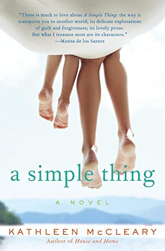 9780062106230: A Simple Thing: A Novel