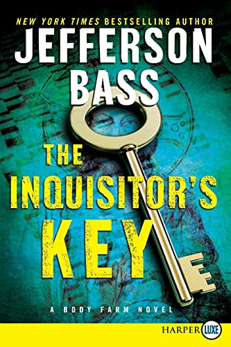 9780062107084: The Inquisitor's Key LP: A Body Farm Novel