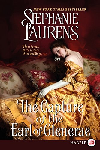 9780062107251: The Capture of the Earl of Glencrae LP (Cynster Sisters Trilogy)