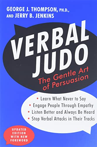 9780062107701: Verbal Judo: The Gentle Art of Persuasion, Updated Edition
