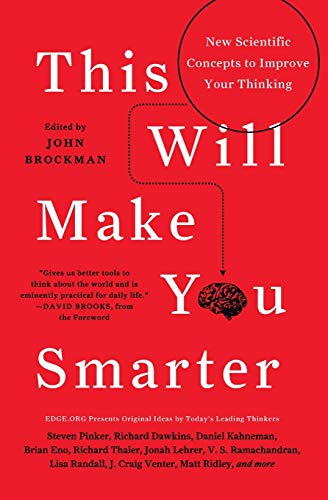 9780062109392: This Will Make You Smarter: New Scientific Concepts to Improve Your Thinking (Edge Question)