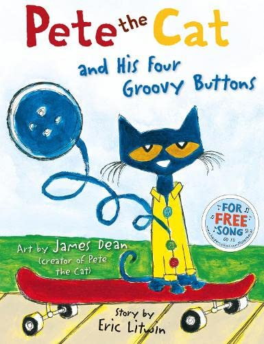 9780062110596: Pete the Cat and His Four Groovy Buttons
