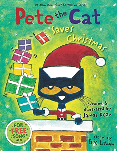 9780062110626: Pete the Cat Saves Christmas