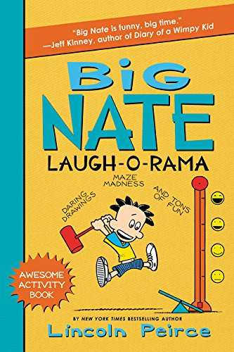 9780062111166: Big Nate Laugh-O-Rama (Big Nate Activity Book)
