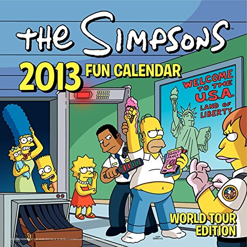 9780062115249: The Simpsons 2013 Fun Calendar