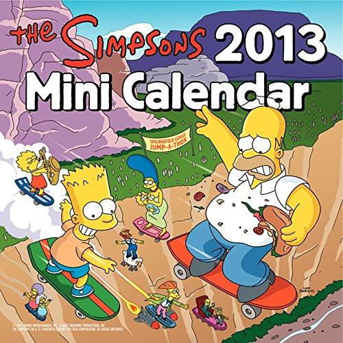 The Simpsons 2013 Mini Calendar: Groening, Matt