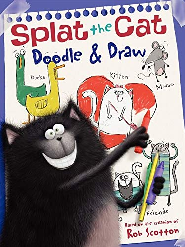 9780062116079: Doodle & Draw: A Coloring & Activity Book (Splat the Cat)