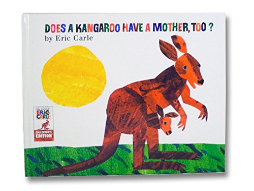 "9780062120045: Eric Carle Does a Kangaroo Have a Mother Too? Book & Plush Toy 11"" (Bundle) (Kohl's Cares)"