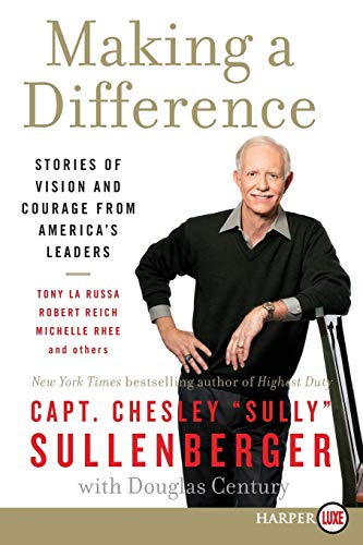 9780062128317: Making a Difference: Stories of Vision and Courage from America's Leaders
