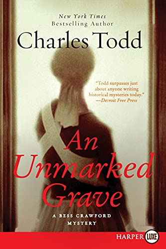 9780062128324: An Unmarked Grave (Bess Crawford Mysteries (Large Print))