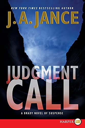9780062128386: Judgment Call (Joanna Brady)
