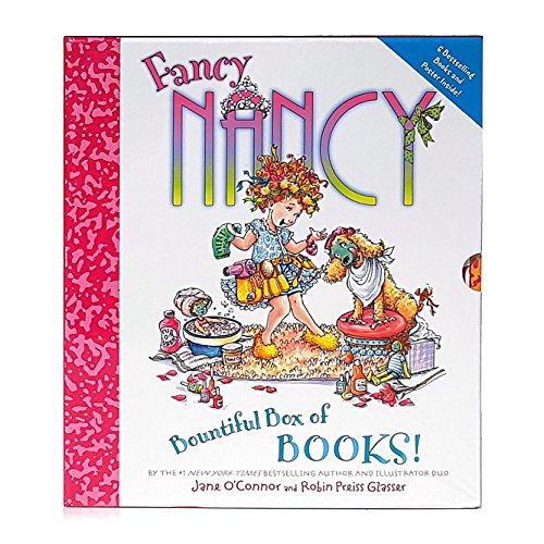 9780062128645: Fancy Nancy - Bountiful Box of Books, 6 book set: Fancy Nancy Poet Extraordinaire!, Stellar Stargazer!, Aspiring Artist, Explorer Extraordinaire!, Ooh La La! It's a Beauty Day, Favorite Fancy Words! (Boxed Set 2013)