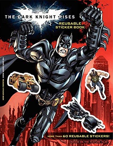 9780062132253: The Dark Knight Rises: Reusable Sticker Book
