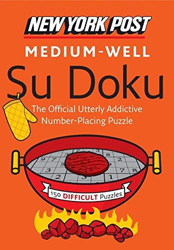 9780062184153: New York Post Medium-Well Su Doku: 150 Difficult Puzzles (New York Post Su Doku (Harper))