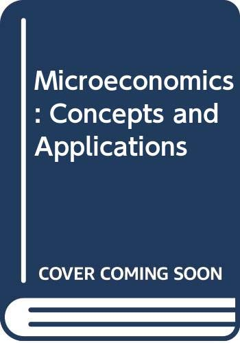 9780062185969: Microeconomics: Concepts and Applications