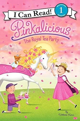 9780062187932: Pinkalicious: The Royal Tea Party (I Can Read! Pinkalicious - Level 1)