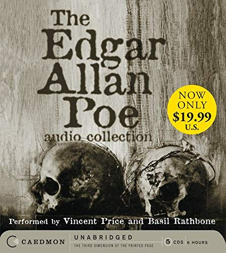 9780062188496: Edgar Allan Poe Audio Collection Low Price CD