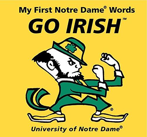 9780062196040: My First Notre Dame Words Go Irish