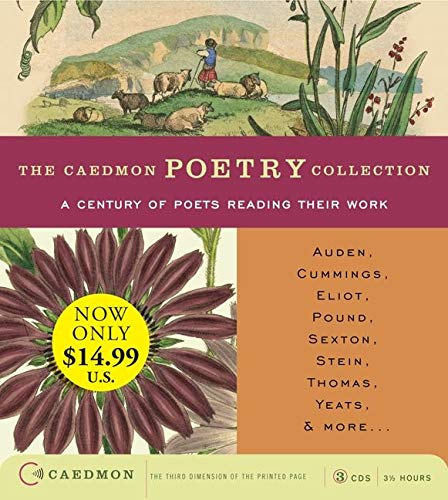 9780062206404: Caedmon Poetry Collection:A Century of Poets Reading Their Work Low-Price CD