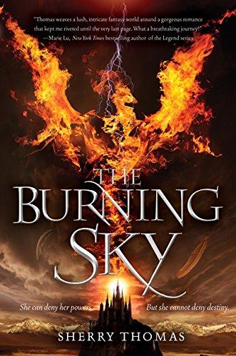 9780062207296: The Burning Sky (Elemental Trilogy)