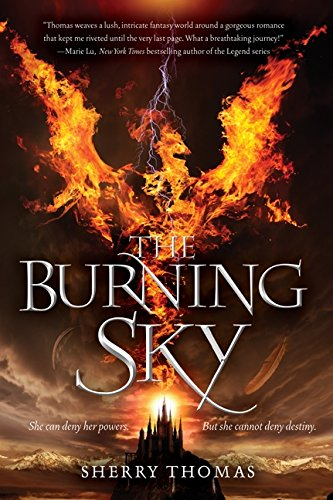 9780062207302: The Burning Sky (Elemental Trilogy)