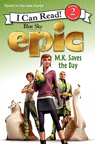 9780062209917: Epic: M.K. Saves the Day (I Can Read Level 2)