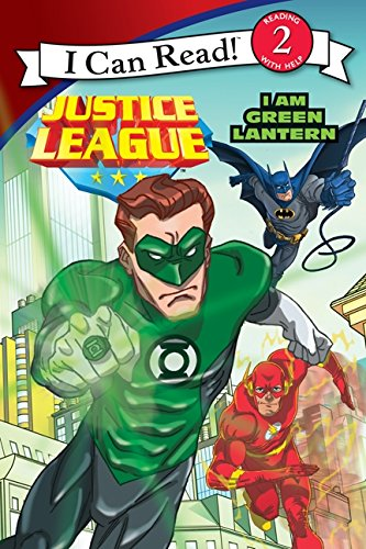 9780062210067: Justice League: I Am Green Lantern (I Can Read Books: Level 2)
