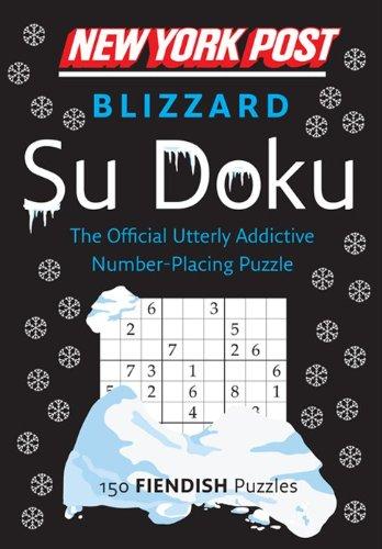 9780062213839: New York Post Blizzard Su Doku (Fiendish)