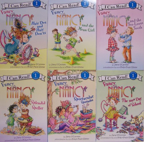 9780062215390: Fancy Nancy Pack - 6 Book Set (I Can Read, Level 1)