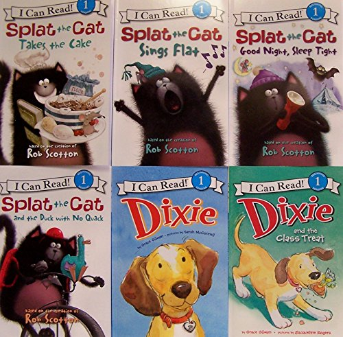 9780062215437: Splat the Cat / Dixie (I Can Read) (6 Book Set)