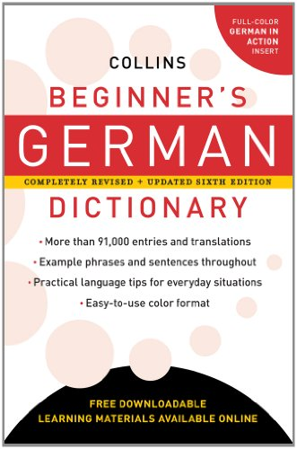 9780062220486: Collins Beginner's German Dictionary, 6e