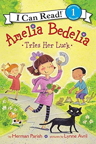 9780062221285: Amelia Bedelia Tries Her Luck (I Can Read Level 1)