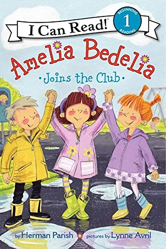 9780062221308: Amelia Bedelia Joins the Club (I Can Read Level 1)