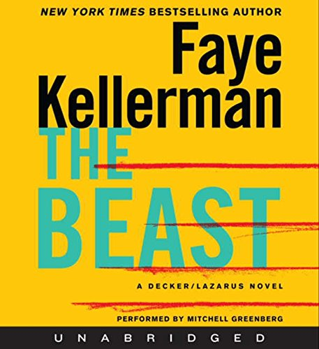 9780062221803: Beast Unabridged CD, The (Decker/Lazarus Novels)