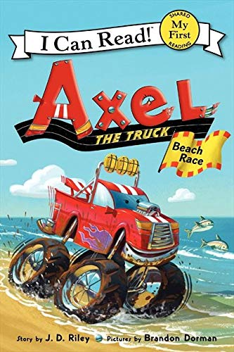 9780062222305: Axel the Truck: Beach Race (My First I Can Read)