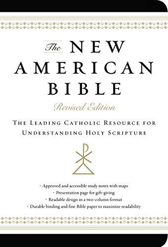 9780062224019: New American Bible (Non-Flex Black Imitation Leather)