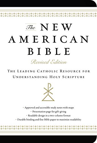 9780062224019: The New American Bible, Revised Edition, Imitation Leather, Non-flex, Black: The Leading Catholic Resource for Understanding Holy Scripture