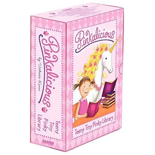 9780062227249: Pinkalicious: Teeny Tiny Pinky Library: 4 Mini Books