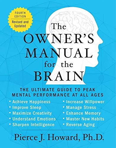 9780062227355: The Owner's Manual for the Brain: The Ultimate Guide to Peak Mental Performance at All Ages
