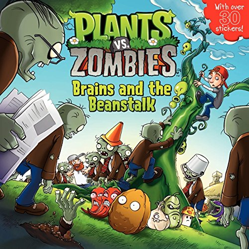 9780062228369: Plants vs. Zombies: Brains and the Beanstalk [With Sticker(s)]