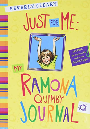 9780062230492: Just for Me: My Ramona Quimby Journal